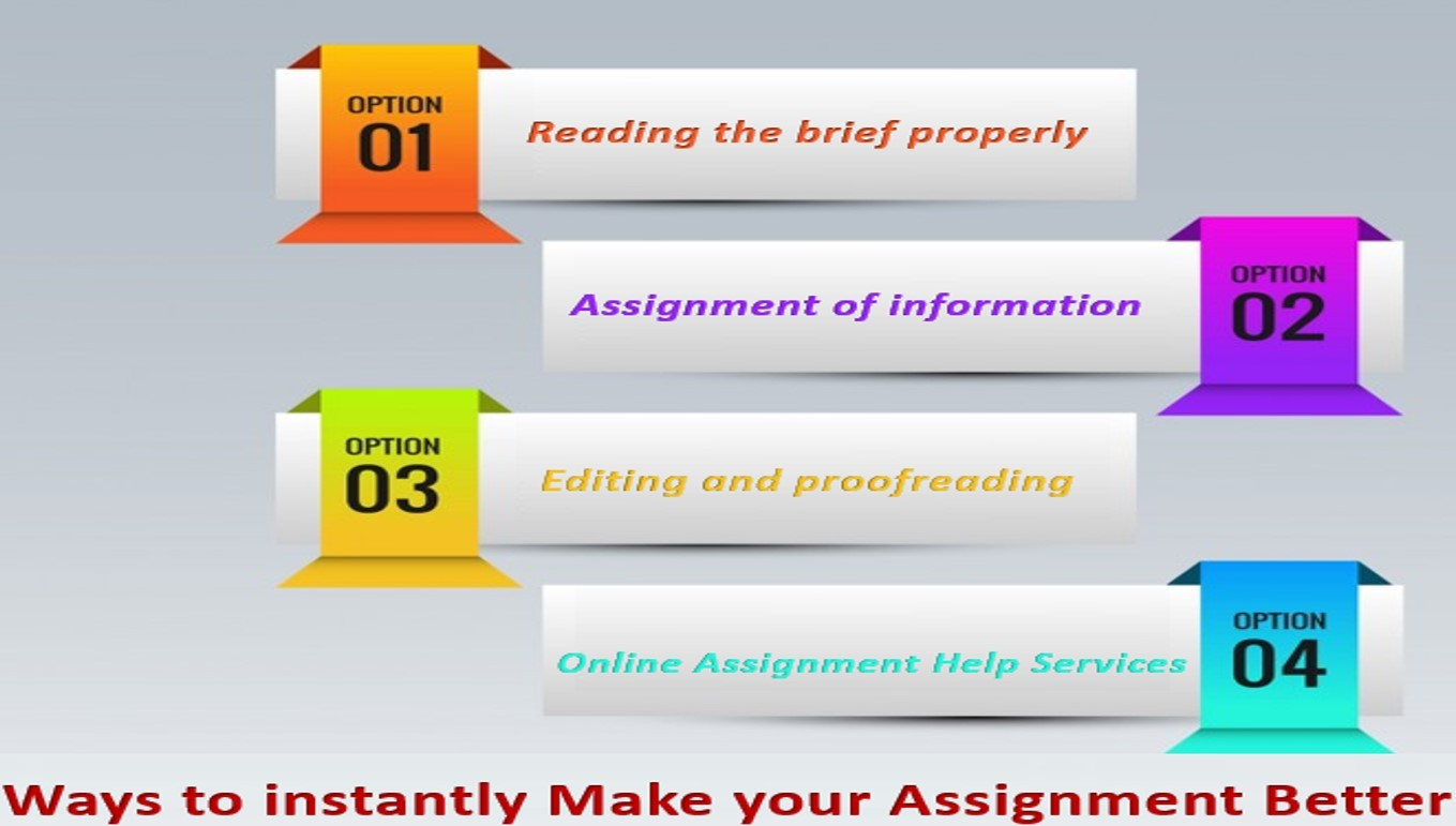 Ways To Instantly Make Your Assignment Better