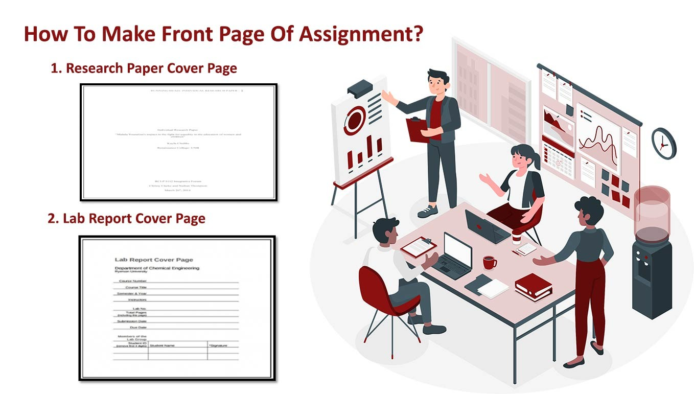 How To Make Front Page Of Assignment?