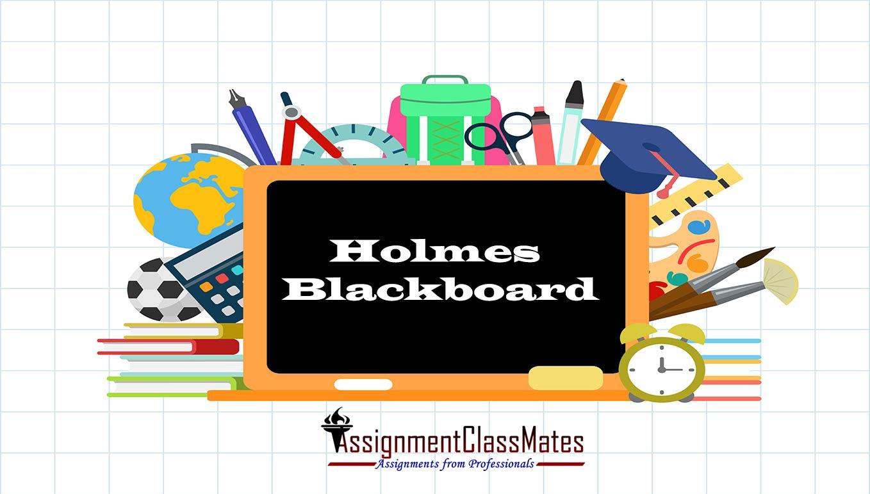 Holmes Blackboard Institute Information